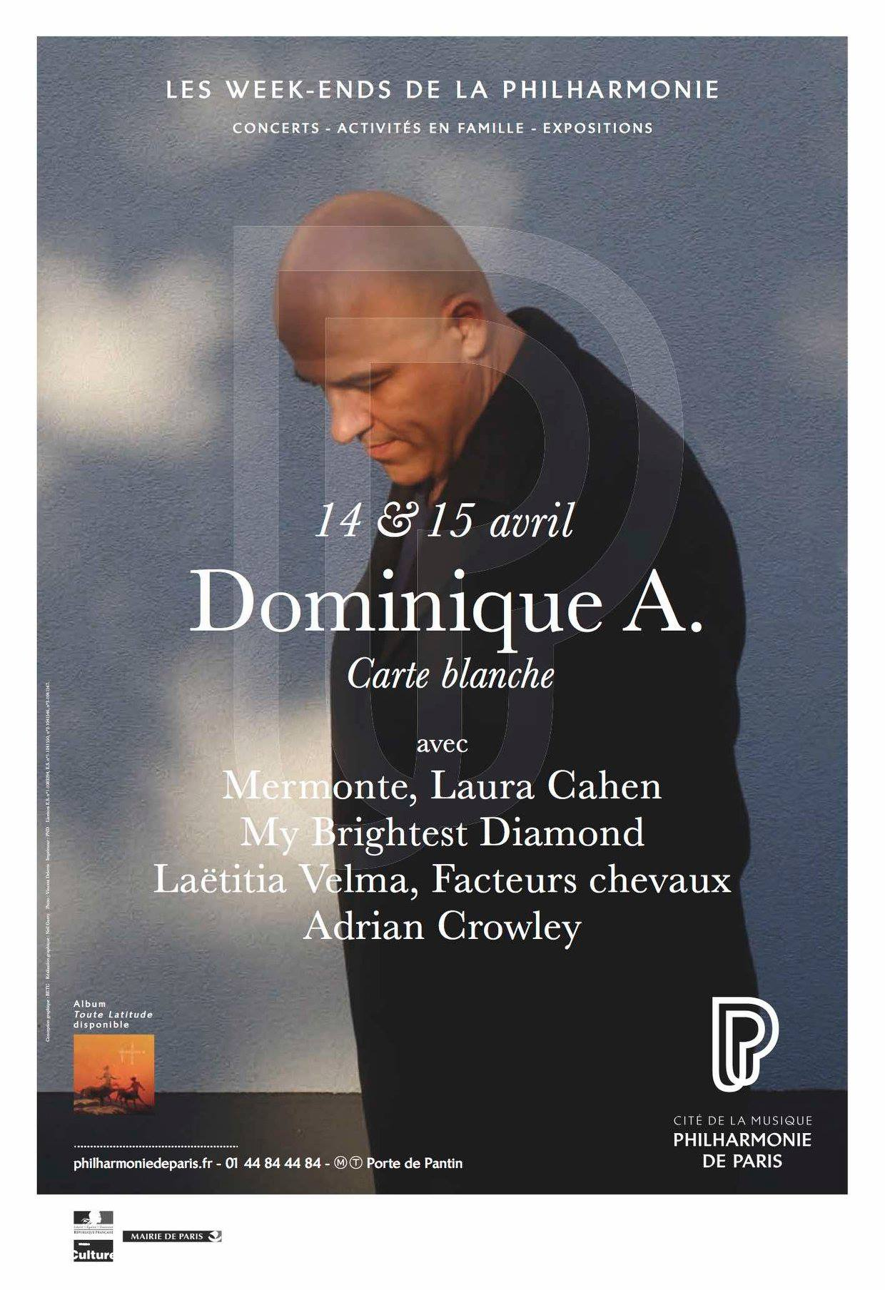 Affiche philharmonie dominique a