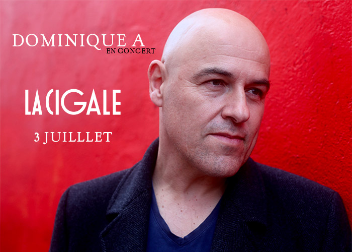 Dominique A à la Cigale